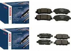 Brzdové platničky predné + zadné Bosch NISSAN X TRAIL T31