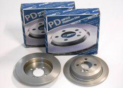 2x brzdové kotúče zadné Meyle Platinum MINI R50 R52 R55 R56 R57
