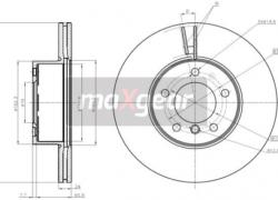 2x brzdové kotúče predné vetrané 312mm BMW 1/2 Coupe/2 Cabriolet/3