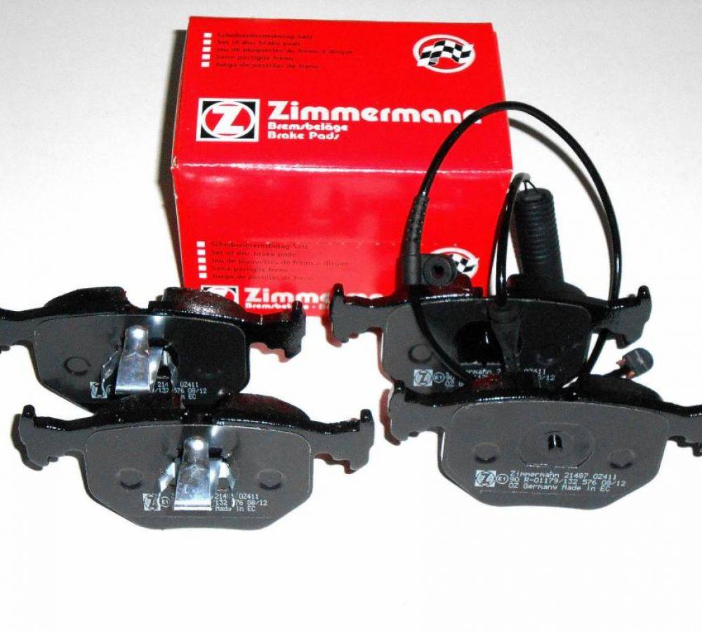Brzdové platničky komplet zadné ZIMMERMANN BMW X5 E53