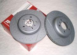 2x brzdové kotúče zadné dierované ZIMMERMANN  BMW 3 Gran Turismo, 4 F32, F82