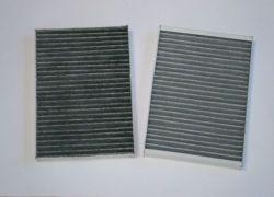 2x peľový filter s aktívnym uhlím Mercedes-Benz S-class W221,C216