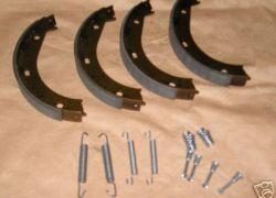 Brzdové čelisti se sadou pružin na ruční brzdu BMW E83 X3