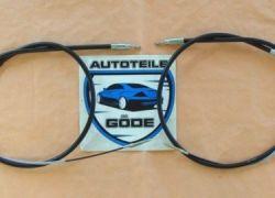 2x lanko ruční brzdy zadní BMW E46
