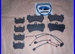 2x brzdové destičky Porsche Cayenne + VW Touareg + Audi Q7
