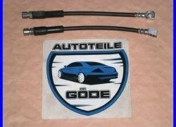 2x brzdová hadica predná Opel Corsa A