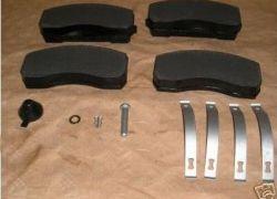 Brzdové platničky predné komplet Mercedes ATEGO 712-1024