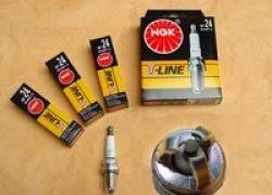 Zapaľovacie sviečky 4 kusy, Audi A8 od do:94 BKUR6ET-10 V-Line 24