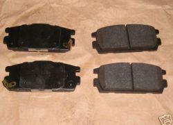 Sada brzdové platničky Hyundai Terracan zadná náprava