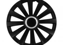 GÓRECKI Puklice SPYDERPRO čierne 16 - 4ks SPYDERPRO16B