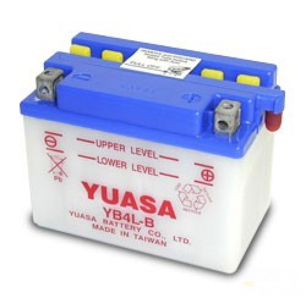 Moto batéria YUASA 12V YB4L-B 4 Ah