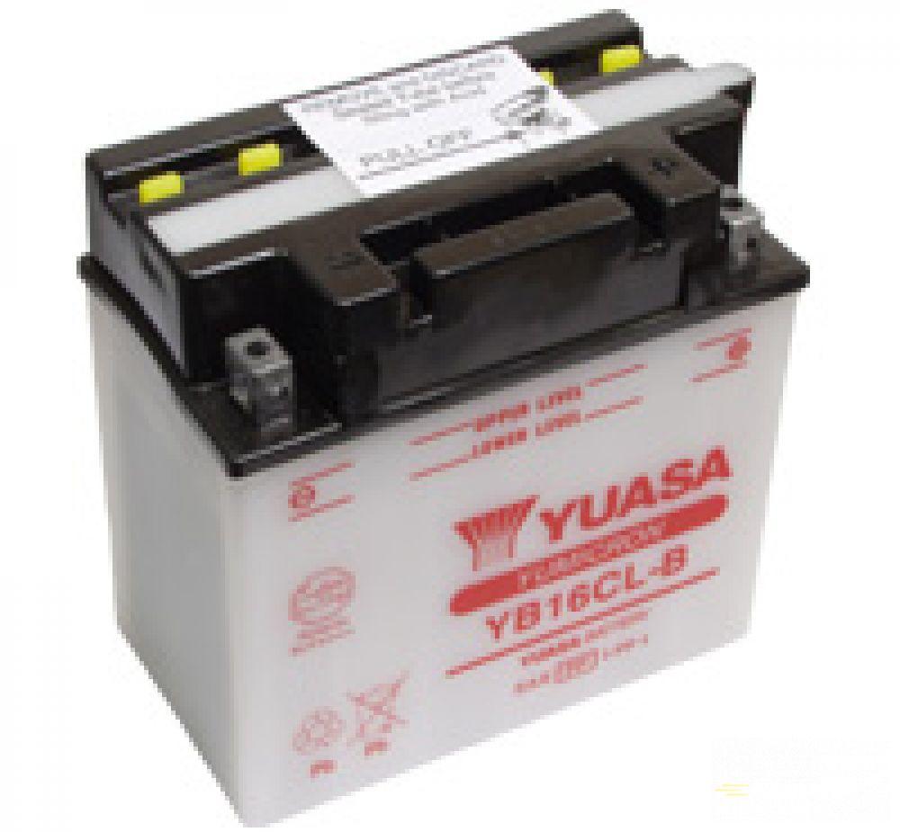 Moto batéria YUASA 12V YB16CL-B 16 Ah