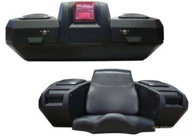 Box na štvorkolku Kimpex Deluxe ATV - zadný/čierny