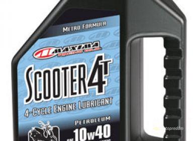 Motorový olej pre skútre MAXIMA SCOOTER 10W40 4T 1L