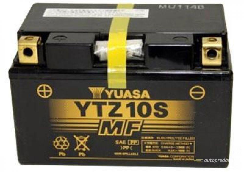 Moto batéria YUASA 12V YTZ10S 8,6Ah