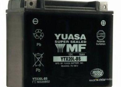 Batéria YUASA 12V YTX20CH-BS 18Ah