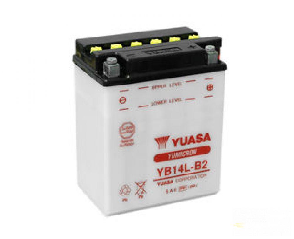 Moto batéria YUASA 12V YB14-B2 14 Ah