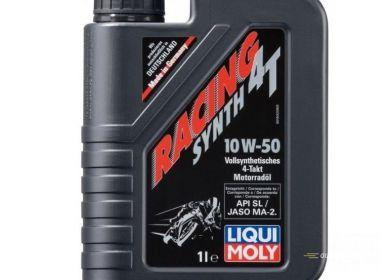 Olej pre motocykle LIQUI MOLY RACING 4T 10W-50 - 1L