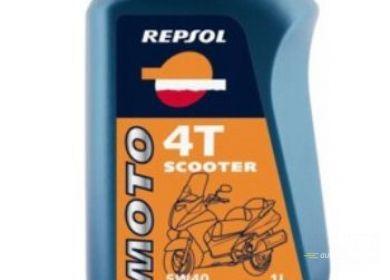 Olej Repsol Moto Scooter 4T 5W40 1L