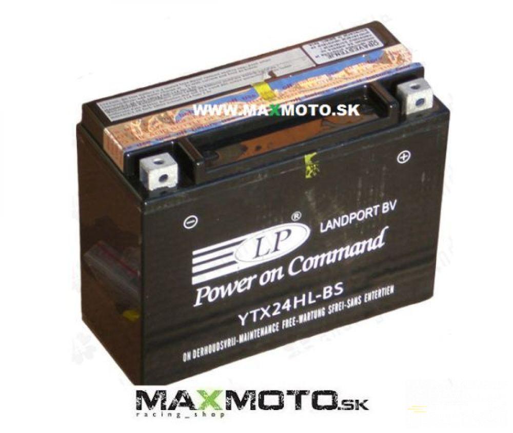 Batéria LP YTX24HL-BS 12V, 24AH, 205x87x162