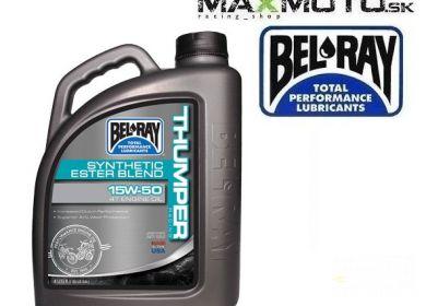 Motorový olej BEL RAY Thumper Racing Blend 4T 15W-50 4L
