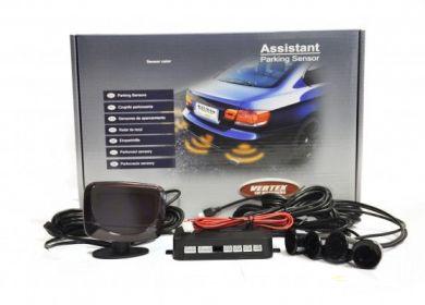 Parkovacie senzory 4ks a LED displej - XD-364
