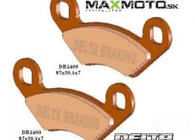 Brzdové obloženie POLARIS all models, DELTA DB2460QD-D