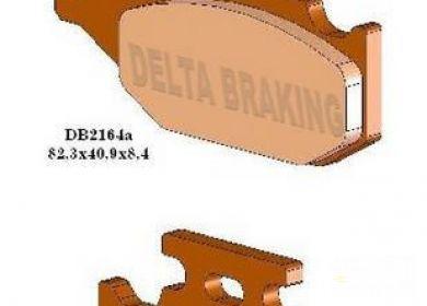 Brzdové obloženie DELTA SUZUKI Kingquad 400-750, predné pravé