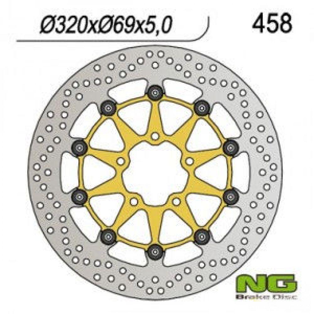 Brzdový kotúč pred. NG458  SUZUKI GSX-R/GSX/TL