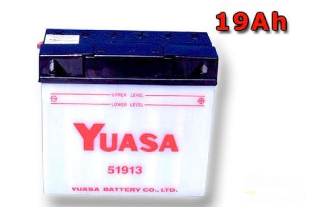 Moto batéria YUASA 12V 51913 19Ah