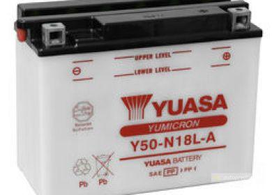 Moto batéria YUASA 12V Y50-N18L-A