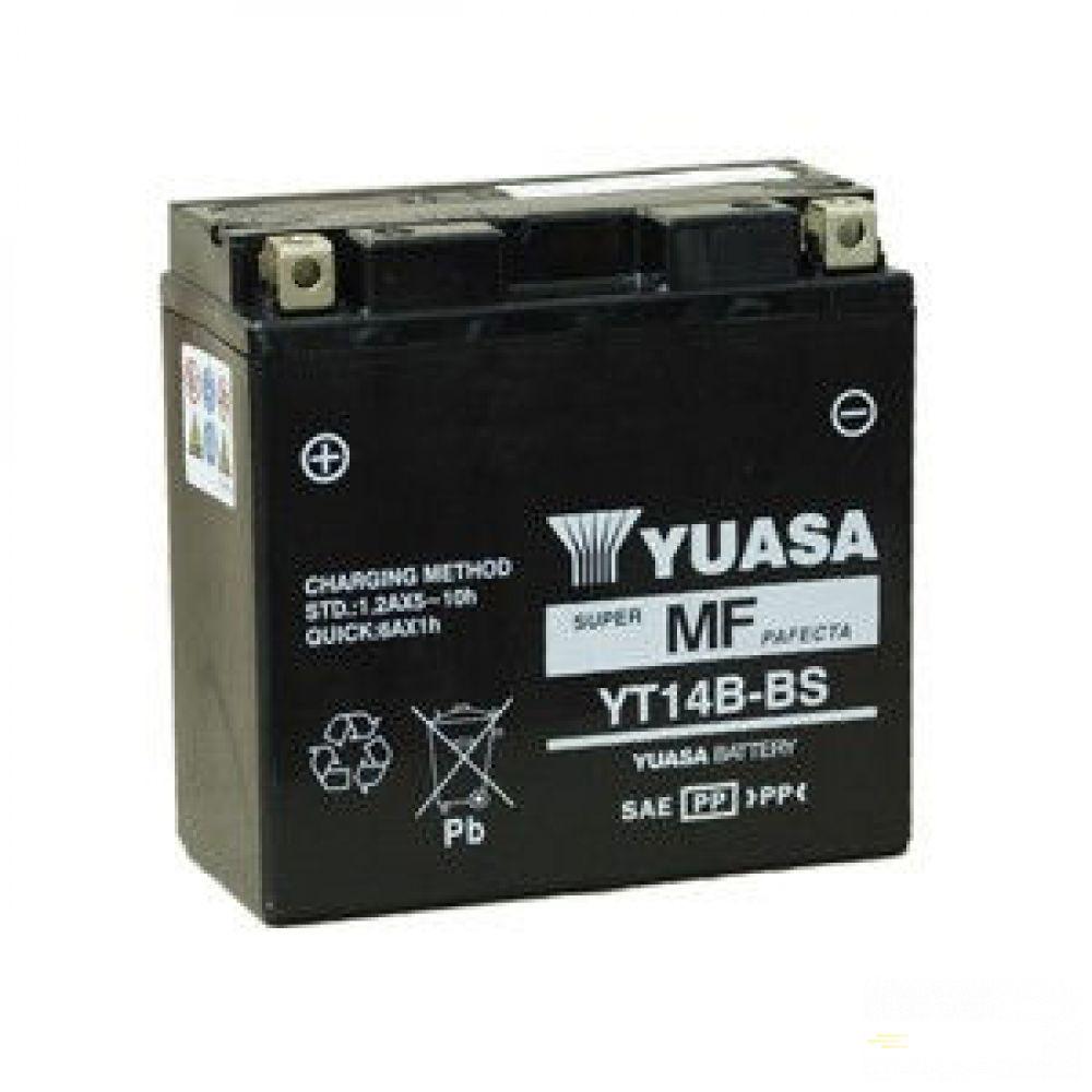Moto batéria YUASA 12V YT14B-BS