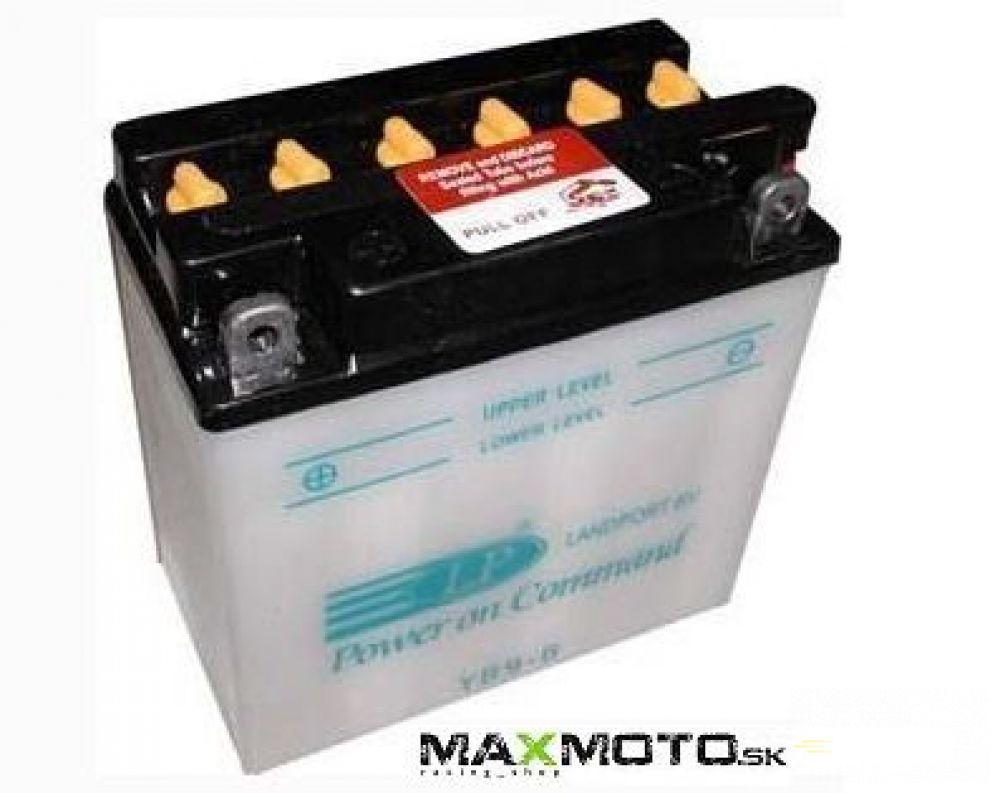 Batéria LANDPORT YB9-B 12V 9AH, 137x76x140 s elektrolytom