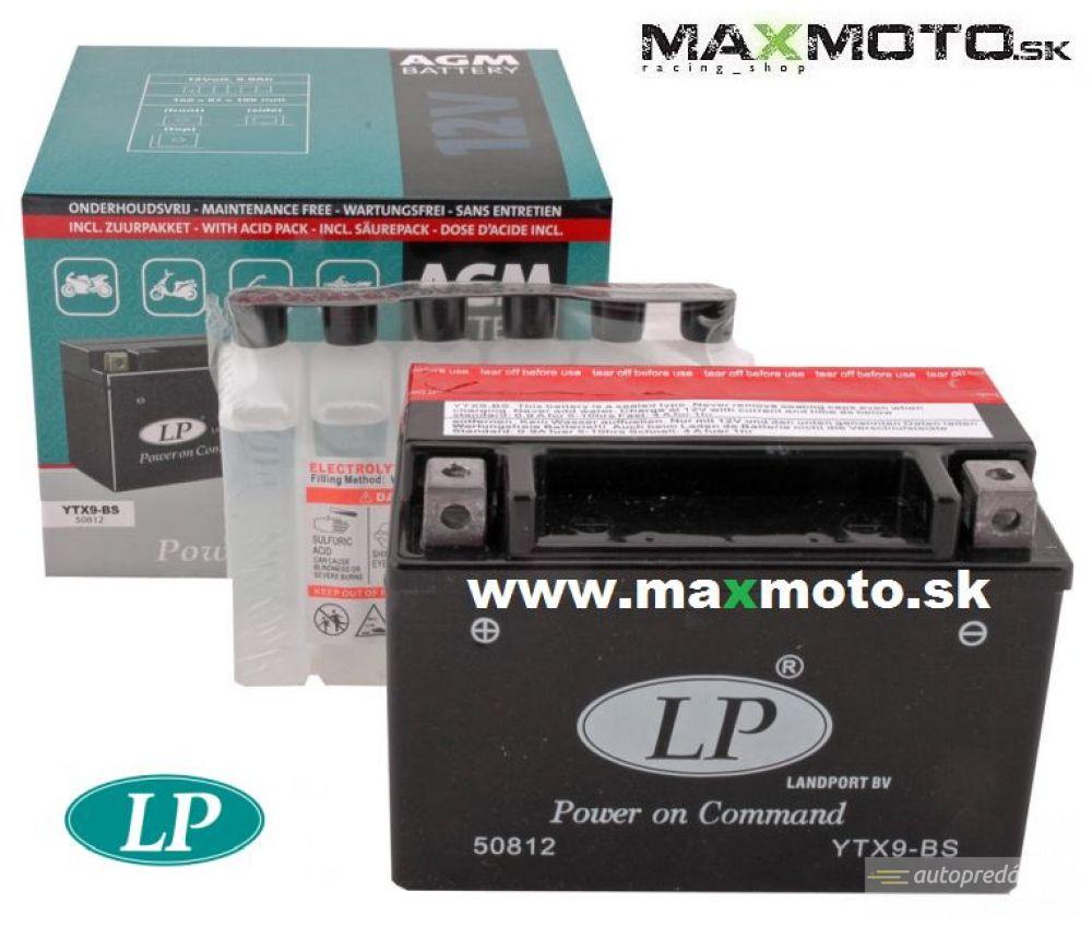 Batéria LP YTX9-BS 12V, 8Ah, 152x88x106