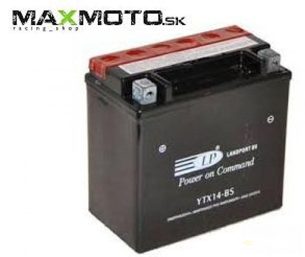 Batéria LP 12V YTX14-BS, 152X88X147, AGM