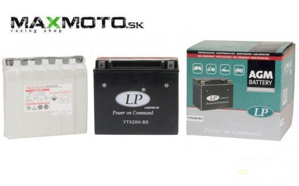 Batéria LP YTX20H-BS 12V, 18Ah 175x87x155, 4011496