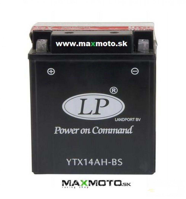Batéria LP YTX14AH-BS 12V, 12AH, 134x89x166