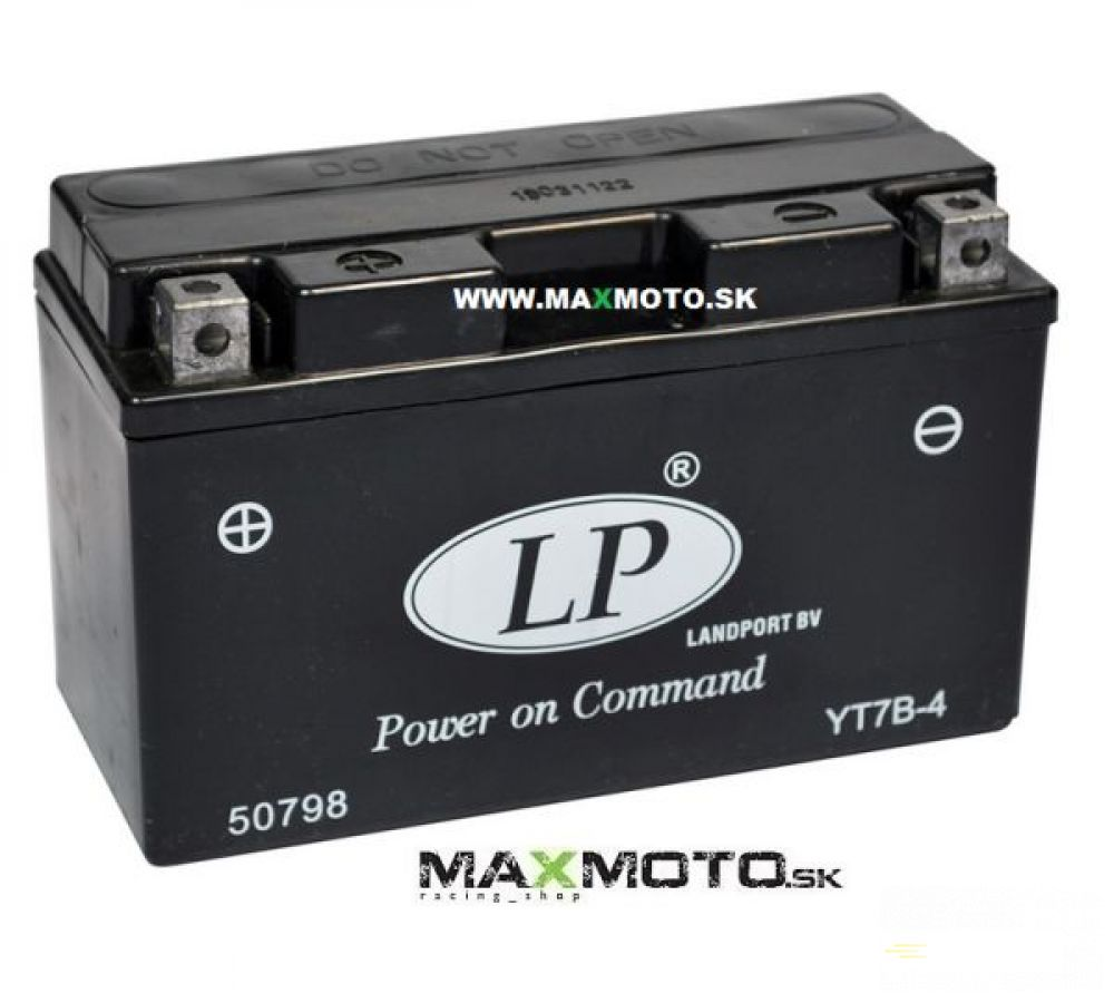 Batéria LP YT7B-4 12V 6,5AH 148x64x90