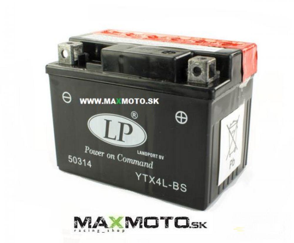 Batéria LP YTX4L-BS L, 12V, 3Ah, 114x71x86