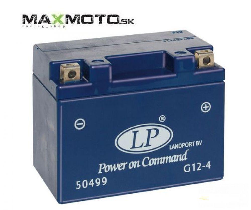 Batéria gélová LP G12-4 12V 4AH 114x71x86mm
