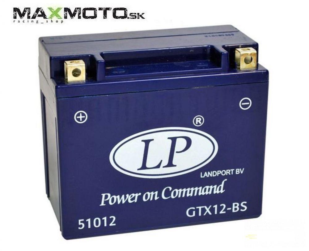 Batéria gélová LP GTX12-BS 12V 10AH 152x88x131
