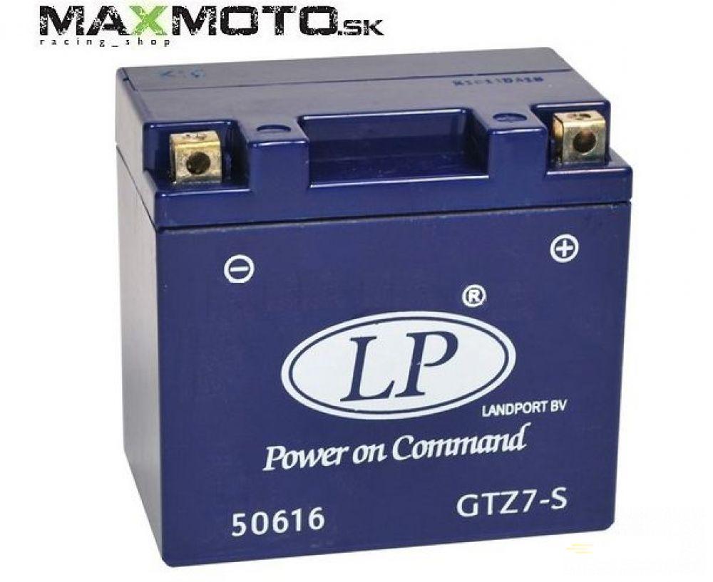 Batéria gélová LP GTZ7-S 12V 6AH 112x69x103