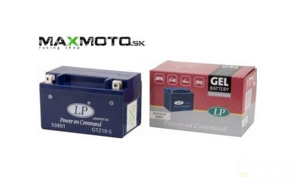 Batéria gélová LP GTZ10-S 12V 8,6AH 150x86x95