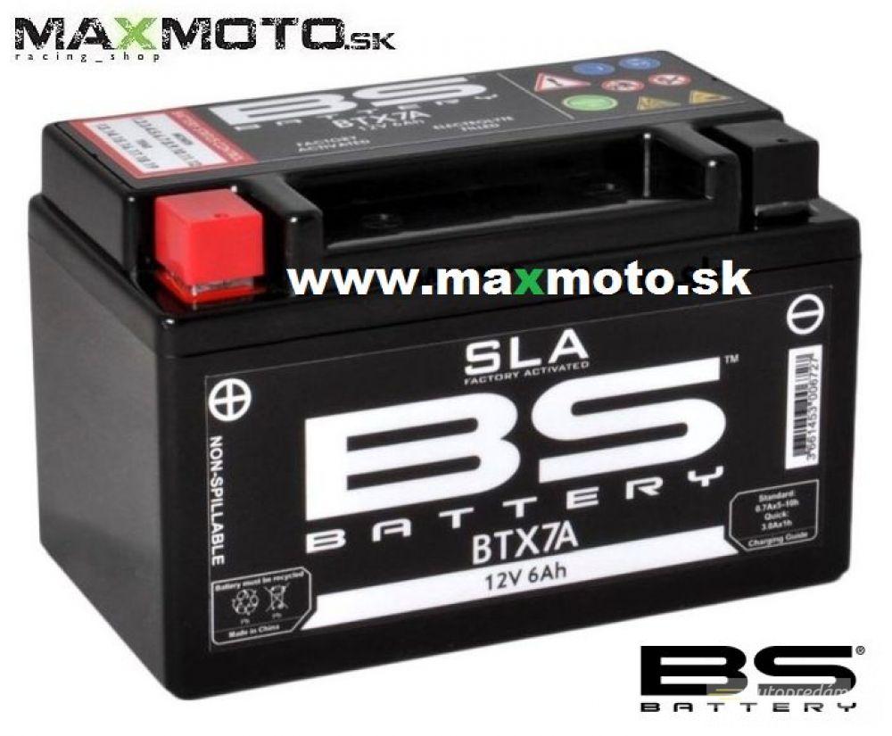 Batéria BS BTX7A 12V, 6Ah, 152x88x94mm