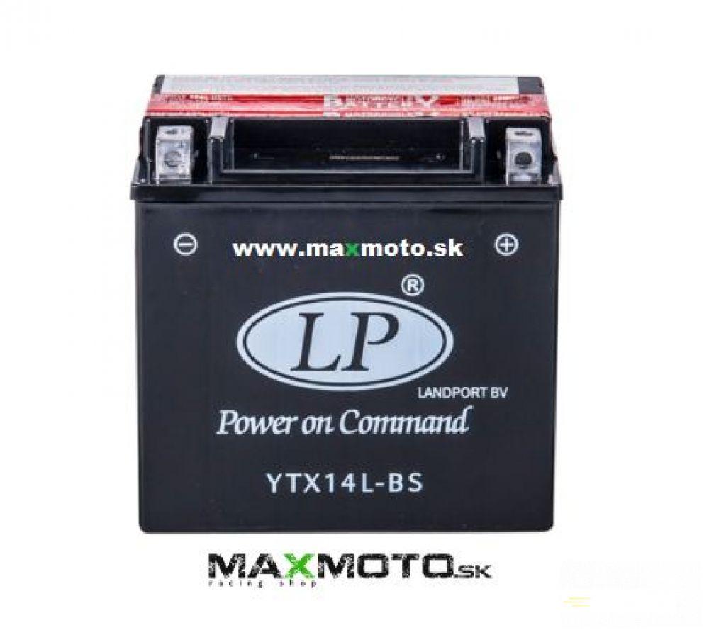 Batéria YTX14L-BS, 12V, 12Ah, 152x88x147