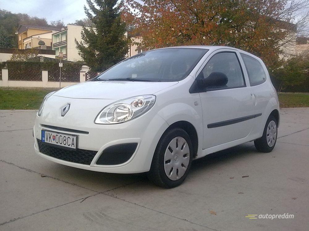Renault Twingo 1,5 dCi 2009, polárna biela, spotreba 3,5l