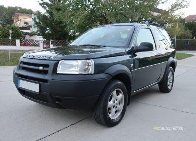 Land Rover Freelander 2.0TD4 113k, 4x4, kabrio, ťažné na 2 tony