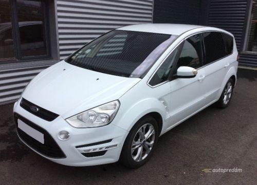 Ford S-Max TITANIUM 2012 2,0TDCI 140k, ťažné zar., 7sedadiel