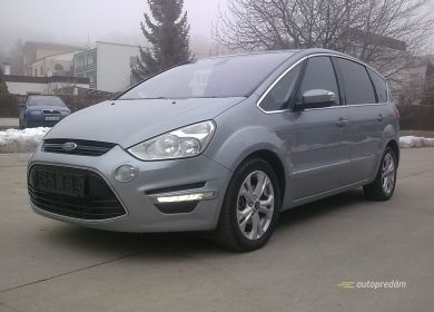 Ford S-Max TITANIUM 2012 2,0TDCI 163k, veľká NAVI, 7sedadiel