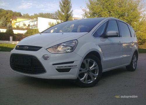 Ford S-Max TITANIUM X 2012 2,0TDCI Powershift, polárna biela